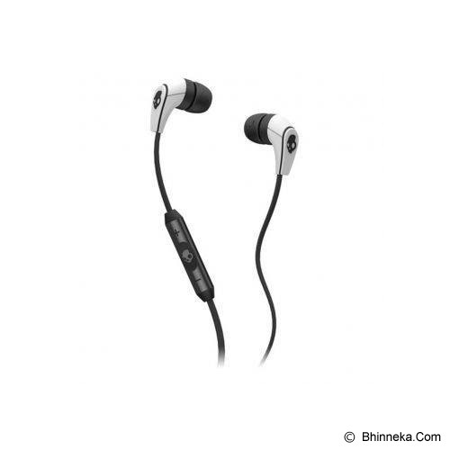 SKULLCANDY 50/50 In-Ear w/Mic [S2FFFM-074] - White/Black/Black - Earphone Ear Monitor / Iem